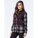 WHITE CROW Raven Womens Plaid Flannel Shirt