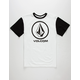 VOLCOM Circle Staple Boys Ringer T-Shirt