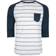 RETROFIT Stripe Raglan Mens Baseball Tee