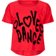 FULL TILT Love Dance Girls Tee