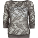 FULL TILT Allover Lace Womens Top