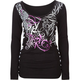 SO CAL Final Touch Lace Up Womens Tee