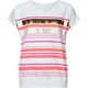 FULL TILT Metallic Stripe Girls Tee