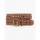 Ethnic Perforated Belt