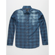 BLUE CROWN Indie Check Mens Shirt