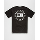 FOURSTAR Circle Bar Mens Pocket Tee