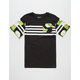 ASPHALT YACHT CLUB Striped Boys Pocket Tee