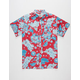 LOST Sumba Mens Woven Shirt