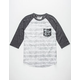 RETROFIT Static Stripe Mens Baseball Tee