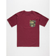 BOHNAM Sinker Mens Pocket Tee