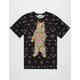 RIOT SOCIETY Ornate Bear Mens T-Shirt