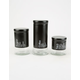 3 Piece Glass Canister Set