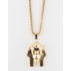 THE GOLD GODS x LAST KINGS Pharaoh Skull Piece Necklace