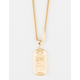 THE GOLD GODS x LAST KINGS Hieroglyphic Necklace