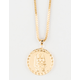 THE GOLD GODS x LAST KINGS Pharaoh Logo Piece Necklace
