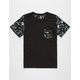 BLUE CROWN Paint Splatter Boys Pocket Tee