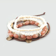FULL TILT 4 Piece Corded Bead Friendship Braclets