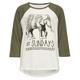 FULL TILT #SUNDAYS Elephant Girls Raglan Tee
