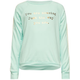 FULL TILT You Are Amazing Crochet Sleeve Girls Sweatshirt