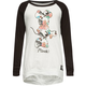 NEFF Disney Collection Floral Minnie Girls Raglan Tee