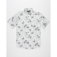 STRAIGHT FADED Floral Mens Shirt