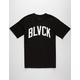 BLACK SCALE Wave Logo Mens T-Shirt