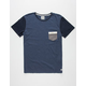 QUIKSILVER Bay Sic Mens Pocket Tee