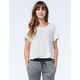 VOLCOM Lived In Womens Cropped Tee