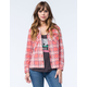 BILLABONG Out Of Bounds Womens Flannel Shirt