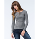 BOZZOLO Womens Crew Neck Thermal
