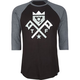 TRUKFIT 2 Flags Mens Baseball Tee