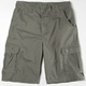 BURNSIDE Mens Washed Cargo Shorts