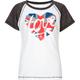FULL TILT British Flag Love Girls Tee
