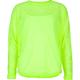 FULL TILT Sheer Neon Girls Top