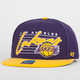 47 BRAND Fission Lakers Mens Snapback Hat