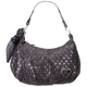 ROCK REBEL Quilted Heart Hobo Bag