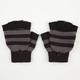 Stripe Flip Top Gloves