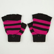 Stripe Flip Top Gloves