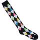 FULL TILT Neon Skulls Knee High Socks