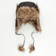 Nylon Fur Womens Trapper Hat