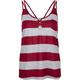 FULL TILT Stripe Womens Henley Tank