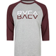 RVCA Reflections Mens Baseball Tee