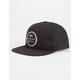 RVCA Circle Type Mens Snapback Hat