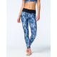 FULL TILT SPORT Galaxy Print Womens Skinny Pants