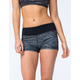 FULL TILT SPORT Scale Print Womens Shorts