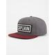 CAPTAIN FIN Naval Seal Mens Snapback Hat