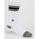 STANCE White Out Mens Socks