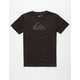 QUIKSILVER Everyday Logo Core Boys T-Shirt