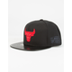 MITCHELL & NESS Chicago Bulls Patent Leather Mens Snapback Hat