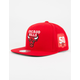 MITCHELL & NESS Chicago Bulls Mens Snapback Hat